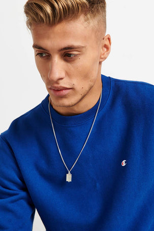Champion Champion Reverse Weave Sweatshirt - Cobalt image 3 - The Sports Edit