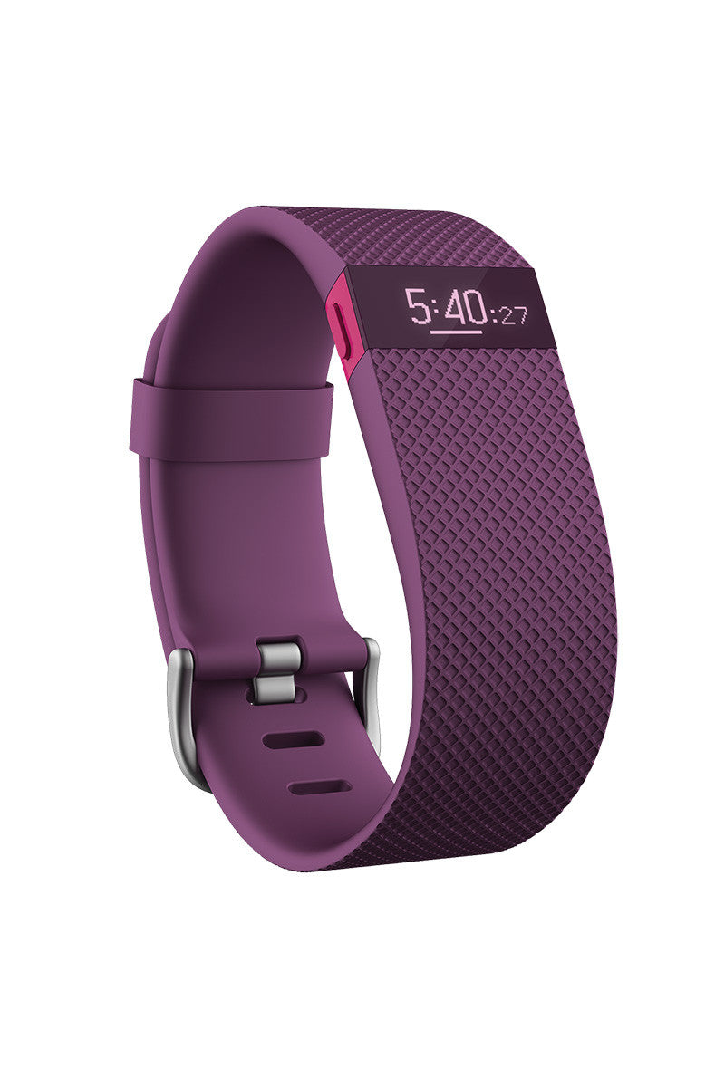 Fitbit Fitbit Charge HR - Plum image 3 - The Sports Edit