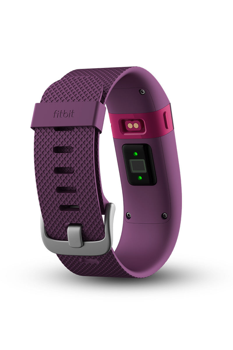 Fitbit Fitbit Charge HR - Plum image 4 - The Sports Edit