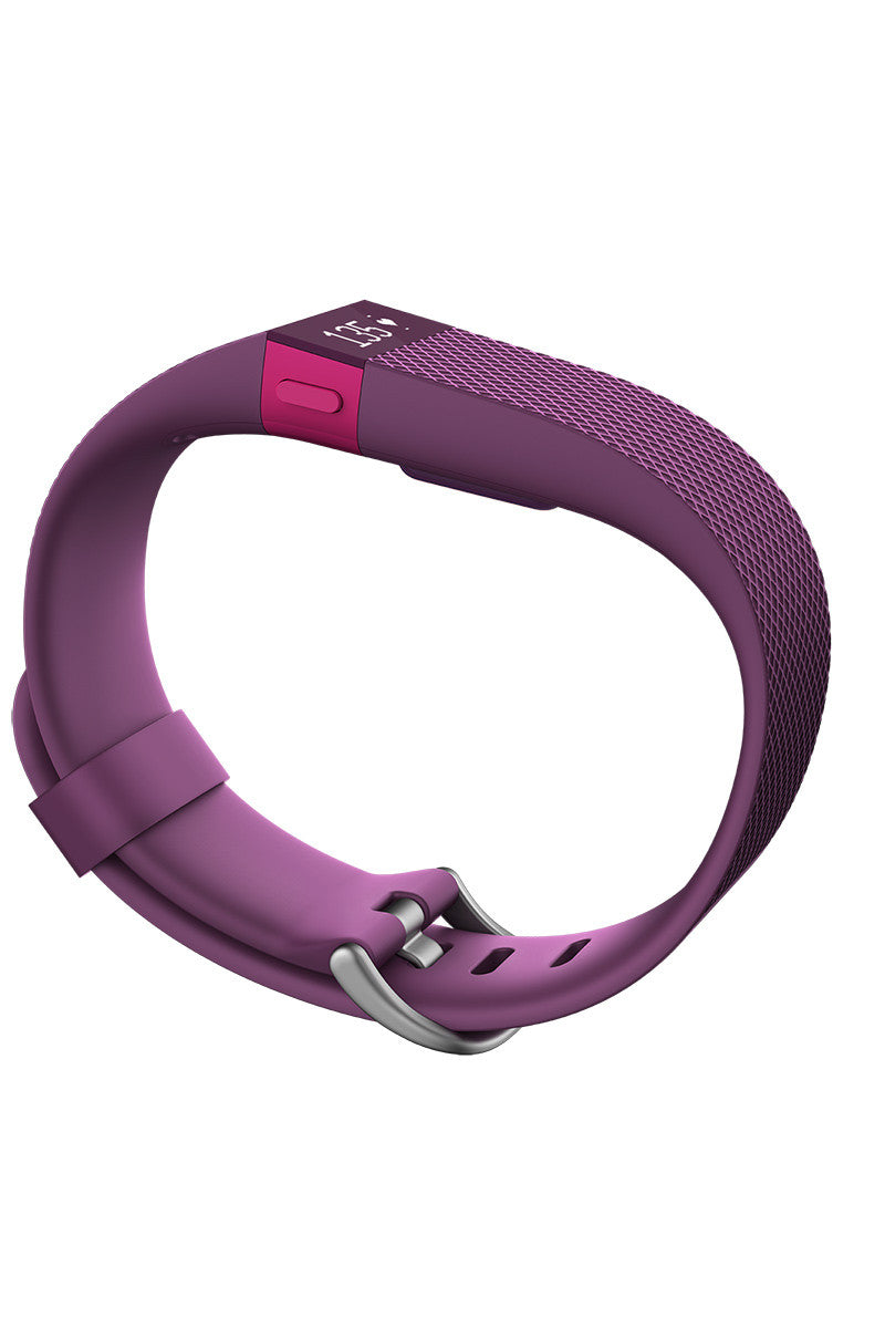 Fitbit Fitbit Charge HR - Plum image 1 - The Sports Edit