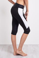 Charli Cohen Laser Capri-Black/White image 3 - The Sports Edit
