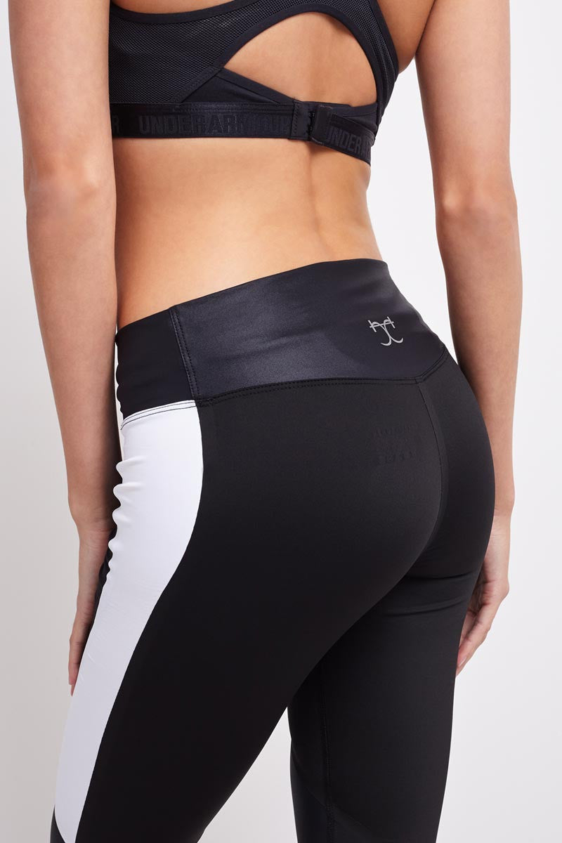 Charli Cohen Laser Capri-Black/White image 4 - The Sports Edit