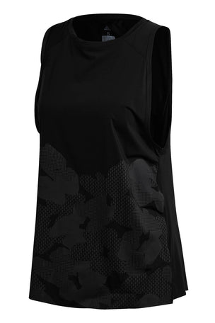 ADIDAS Open Back Tank Top - Black image 5 - The Sports Edit