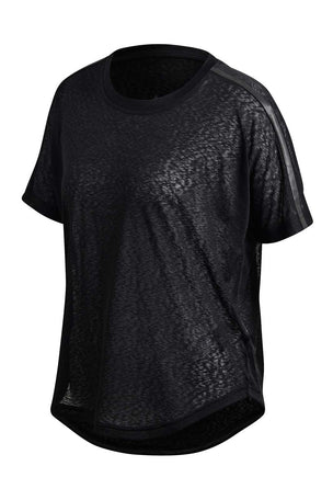 ADIDAS Ready To Go Tee - Black image 5 - The Sports Edit