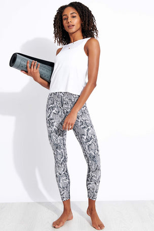 Dharma Bums Aliyah High Waist Printed 7/8 Legging image 2 - The Sports Edit