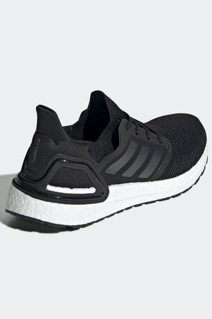 Adidas Ultraboost 20 Shoes - Core Black/Cloud White | Women's image 2 - The Sports Edit