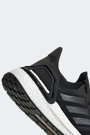 Adidas Ultraboost 20 Shoes - Core Black/Cloud White | Women's image 5 - The Sports Edit