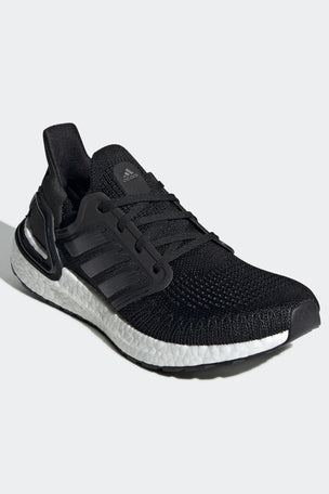 Adidas Ultraboost 20 Shoes - Core Black/Cloud White | Women's image 6 - The Sports Edit