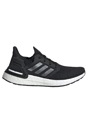 Adidas Ultraboost 20 Shoes - Core Black/Cloud White | Women's image 1 - The Sports Edit