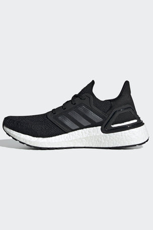 Adidas Ultraboost 20 Shoes - Core Black/Cloud White | Women's image 7 - The Sports Edit