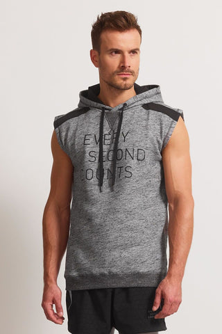 Every Second Counts ESC Sleeveless Sweat image 1 - The Sports Edit