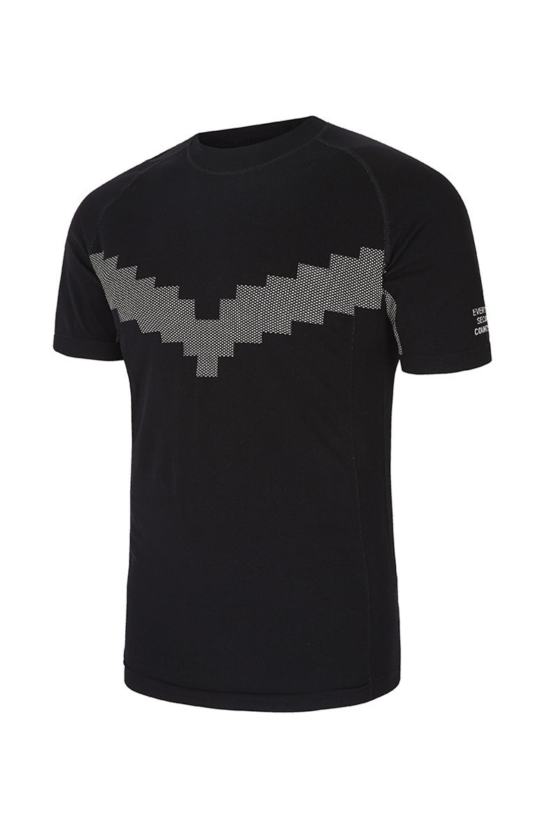 Every Second Counts Warrior Tee Black image 5 - The Sports Edit