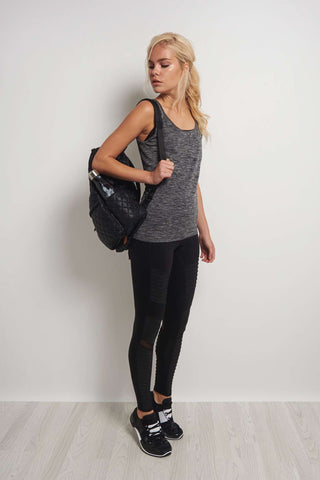 Every Second Counts Balance Vest Grey Marl image 1 - The Sports Edit