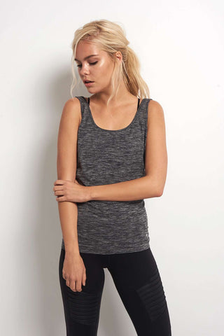 Every Second Counts Balance Vest Grey Marl image 2