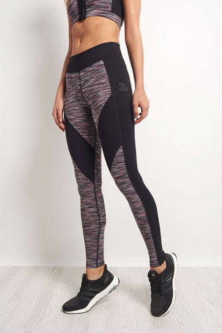 Every Second Counts Live Every Day Legging Grey/Pink image 1 - The Sports Edit
