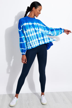 Electric & Rose Neil Sweatshirt - Cobalt/Cloud image 2 - The Sports Edit