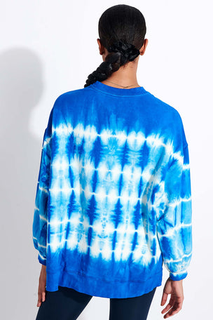 Electric & Rose Neil Sweatshirt - Cobalt/Cloud image 3 - The Sports Edit