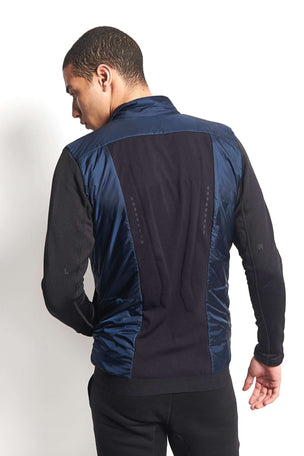 Falke RU Jacket AV - Space Blue image 2 - The Sports Edit