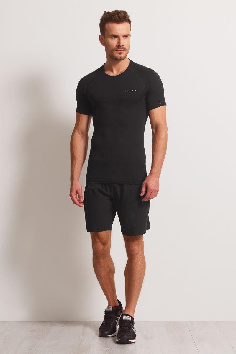 Falke Athletic Short Sleeve T-Shirt  Black image 5 - The Sports Edit