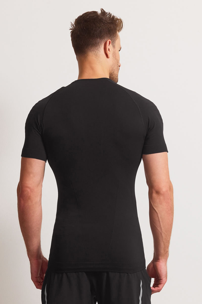 Falke Athletic Short Sleeve T-Shirt  Black image 3 - The Sports Edit