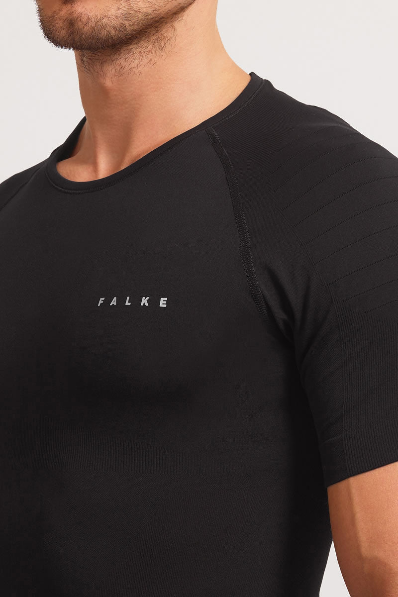 Falke Athletic Short Sleeve T-Shirt  Black image 4 - The Sports Edit