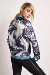 adidas X Stella McCartney Run Palm Jacket Black/White image 3