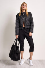 adidas X Stella McCartney Essentials Padded Jacket Black image 1