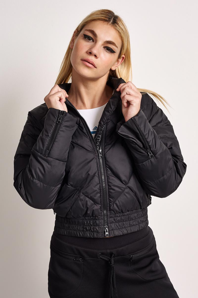 adidas X Stella McCartney Essentials Padded Jacket Black image 2