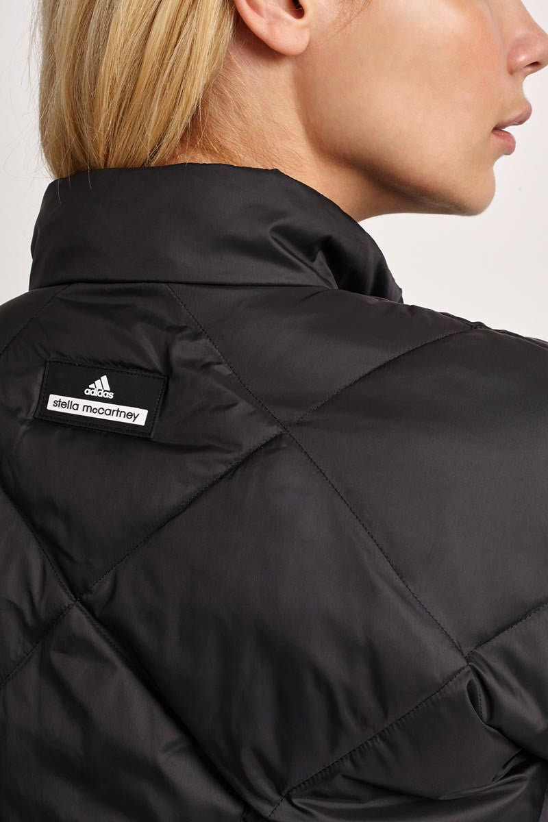 adidas X Stella McCartney Essentials Padded Jacket Black image 4