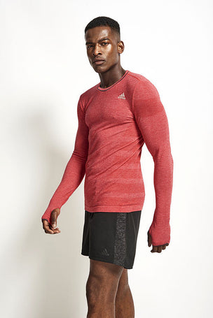 ADIDAS Adistar Wool Primeknit L/S Tee image 1 - The Sports Edit