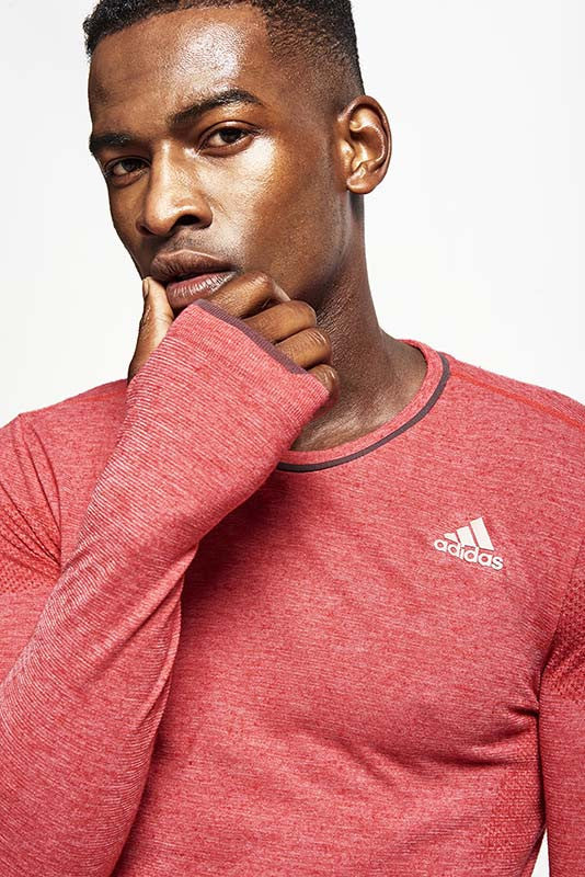 ADIDAS Adistar Wool Primeknit L/S Tee image 3 - The Sports Edit
