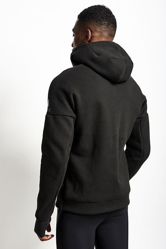 ADIDAS ZNE Hoodie Black image 4 - The Sports Edit
