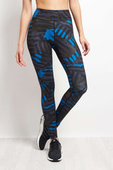 Alala Captain Ankle Tight - Bolt Stripe image 1 - The Sports Edit