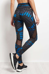 Alala Captain Ankle Tight - Bolt Stripe image 2 - The Sports Edit