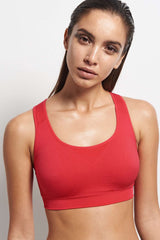 Falke Bra Top Madison Low Rose image 2 - The Sports Edit