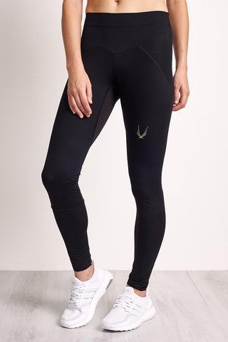 Lucas Hugh Core Performance Leggings - Black image 1 - The Sports Edit