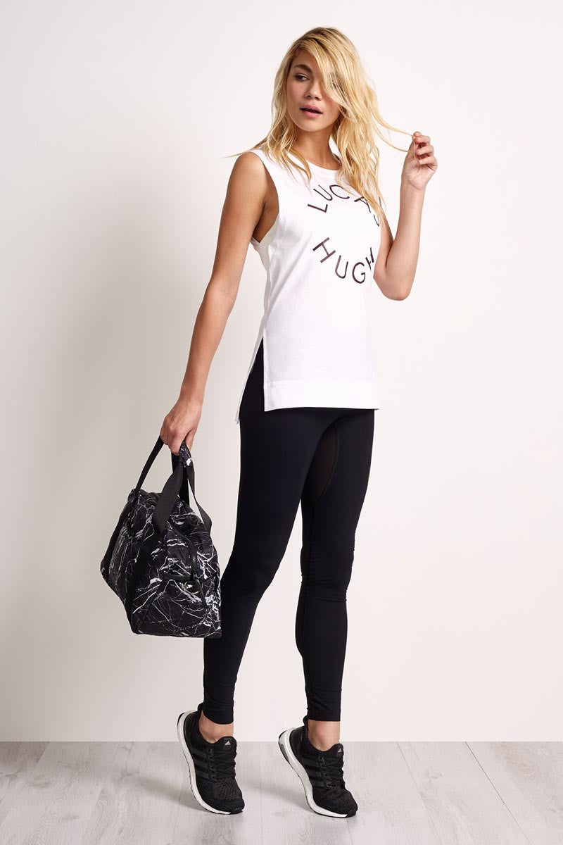 Lucas Hugh Lucas Hugh Tank - White image 1 - The Sports Edit