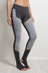 Splits59 Demi Stirrup Tight Heather Grey / Light Heather Grey image 2