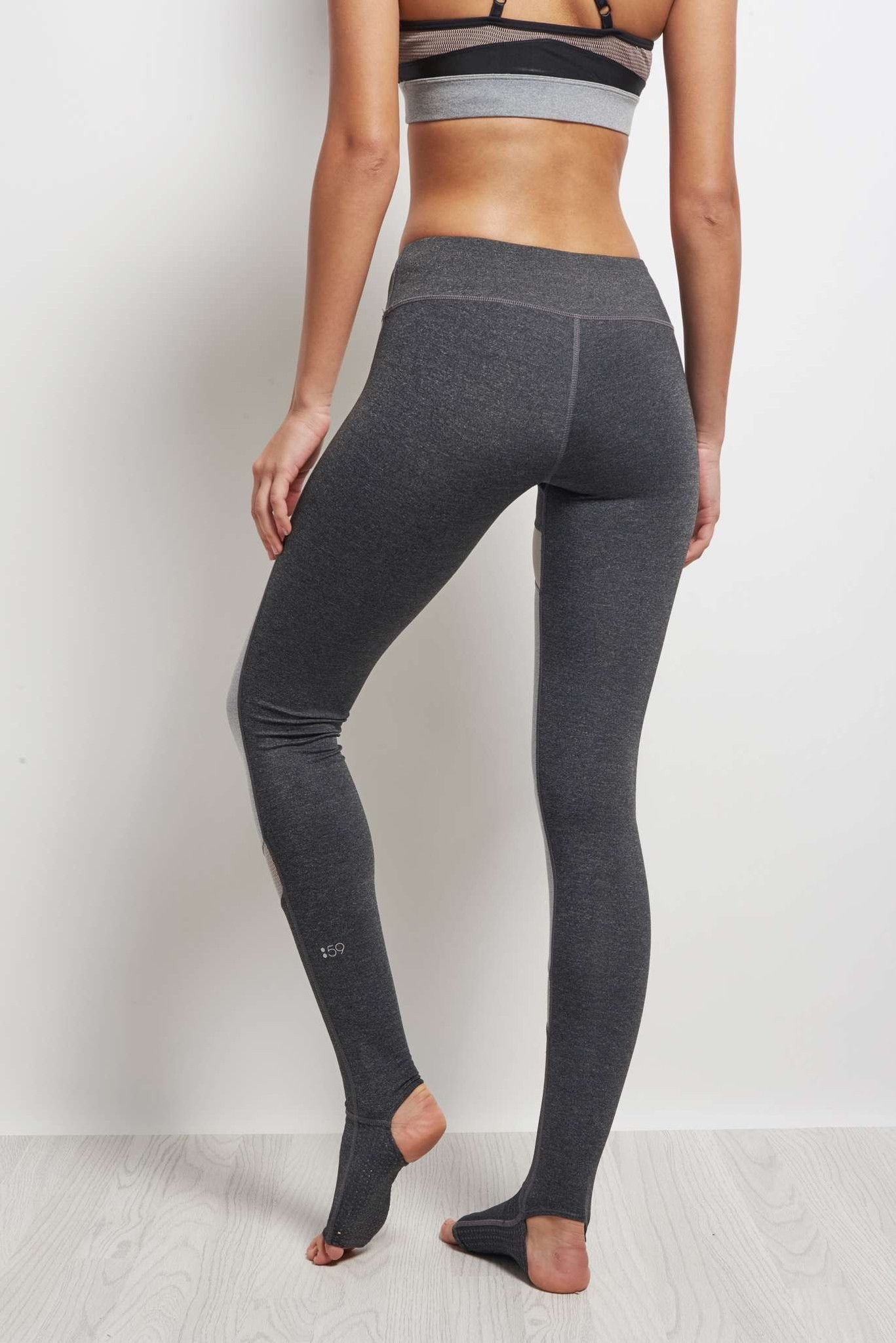 Splits59 Demi Stirrup Tight Heather Grey / Light Heather Grey image 3