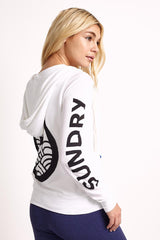 Sundry Logo Hoodie image 2 - The Sports Edit