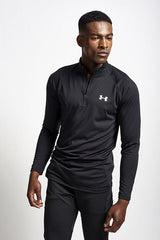 Under Armour Technical 1/4 Zip Long Sleeve - Black image 1 - The Sports Edit