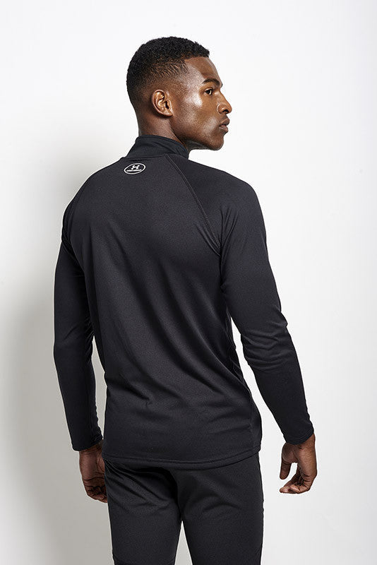 Under Armour Technical 1/4 Zip Long Sleeve - Black image 3 - The Sports Edit