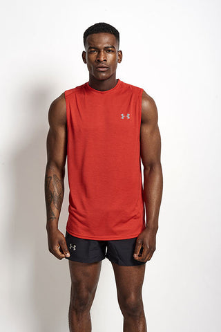 Under Armour UA Tech Muscle Tank RED image 2