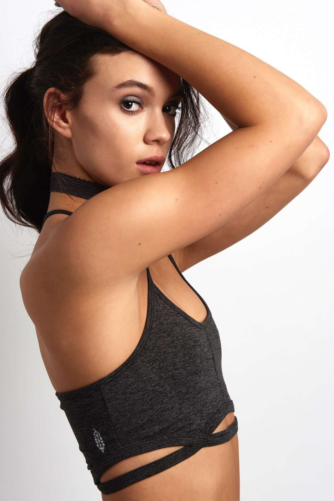FP Movement Infinity Bra - Charcoal image 3 - The Sports Edit