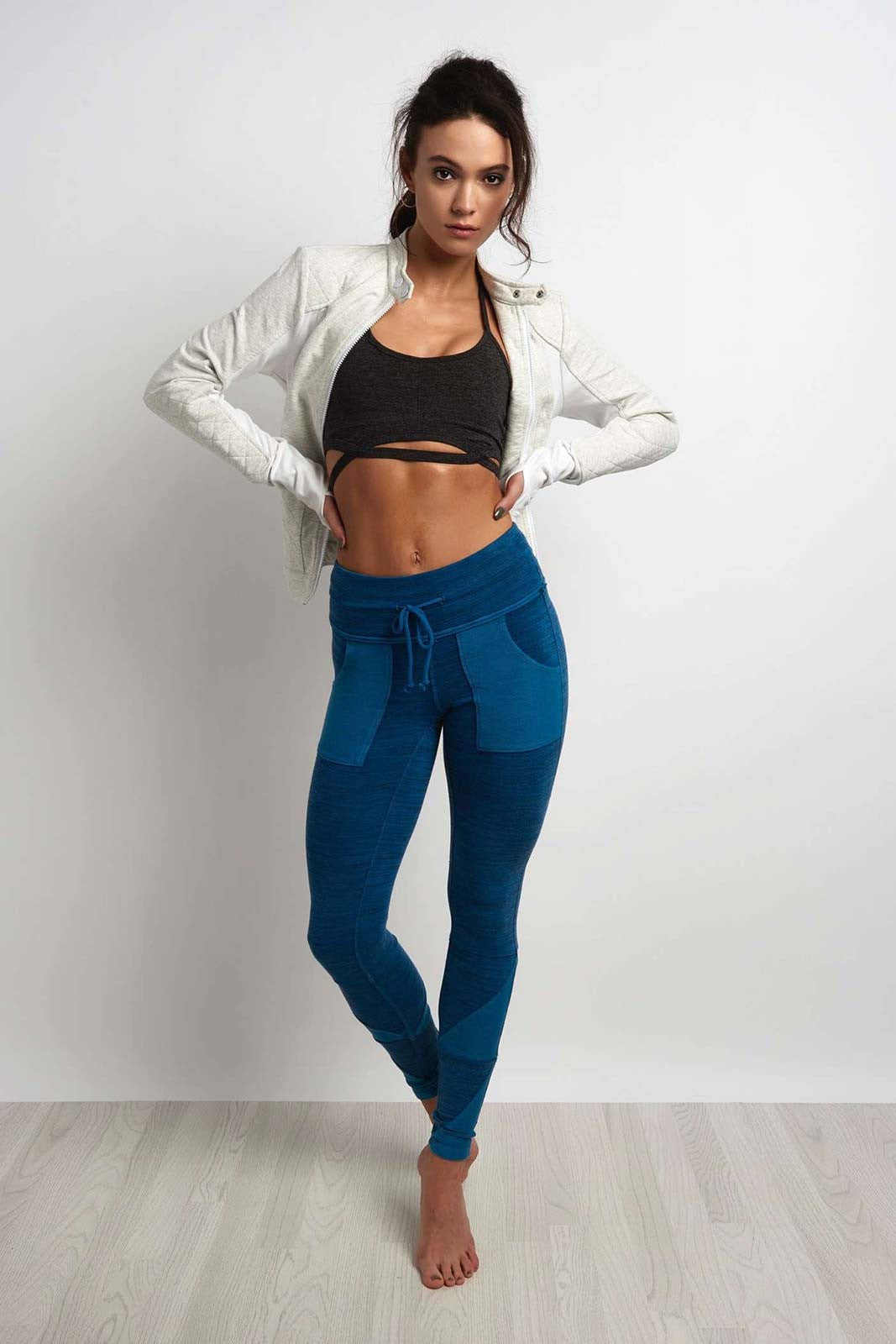 FP Movement Kyoto Legging - Blue image 4 - The Sports Edit