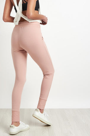 Free People Movement Sunny Skinny Sweatpants Pink image 2 - The Sports Edit