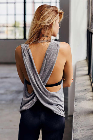FP Movement No Sweat Tank - Grey image 2 - The Sports Edit