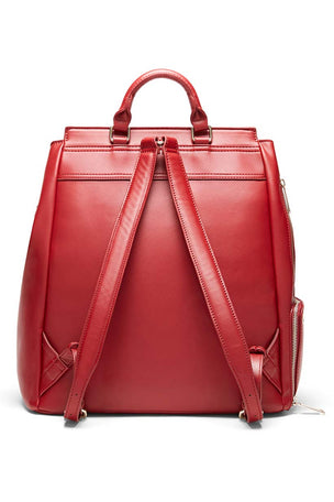 Fact+Fiction Charli Backpack Red image 2 - The Sports Edit