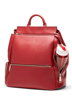 Fact+Fiction Charli Backpack Red image 3 - The Sports Edit