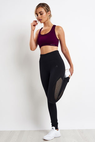 Falke Madison Low Sport Bra - Vendetta image 4 - The Sports Edit